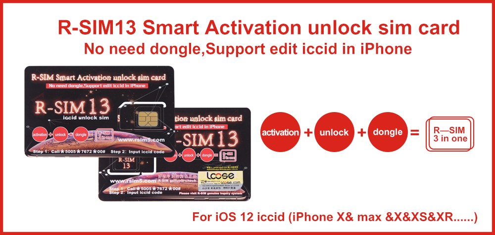 Unlock iPhone 6S/6/5S/5C/5/4S iOS7 with R-SIM,support IOS 5 0~8 0